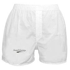 French Guiana flanger Boxer Shorts
