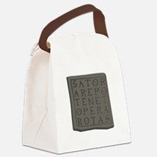 Sator Square Canvas Lunch Bag