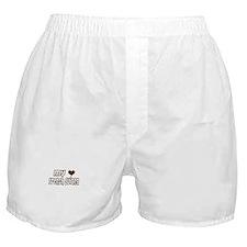 my heart French Guiana Boxer Shorts