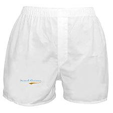 French Guiana beach flanger Boxer Shorts