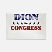 DION for congress Rectangle Magnet