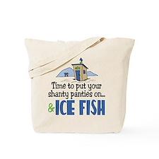 Shanty Panties Ice Fish Tote Bag
