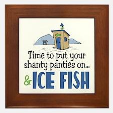 Shanty Panties Ice Fish Framed Tile