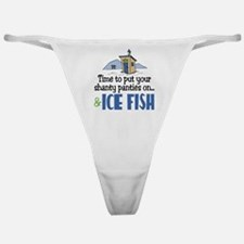 Shanty Panties Ice Fish Classic Thong