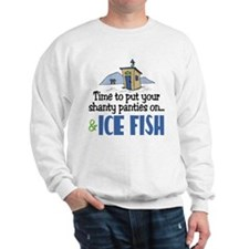 Shanty Panties Ice Fish Sweatshirt