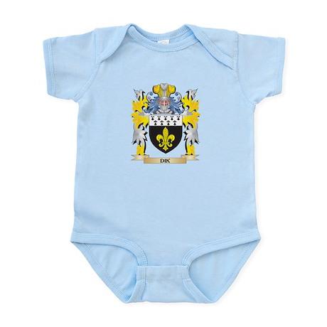 Dik Coat of Arms - Family Crest Body Suit