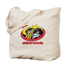 STS 123 Endeavour NASA Tote Bag