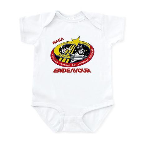 STS 123 Endeavour NASA Infant Bodysuit