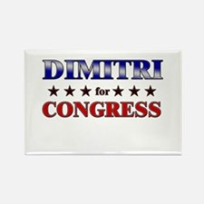 DIMITRI for congress Rectangle Magnet