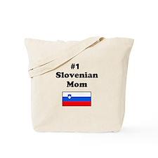 #1 Slovenian Mom Tote Bag
