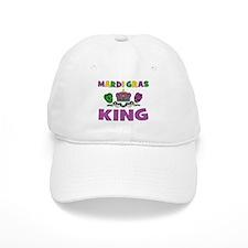 Mardi Gras King Baseball Cap