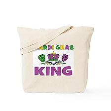 Mardi Gras King Tote Bag