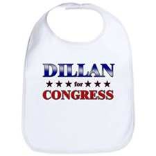DILLAN for congress Bib