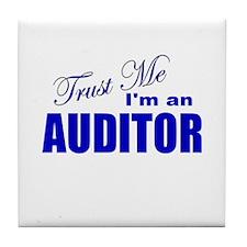 Trust Me I'm an Auditor Tile Coaster