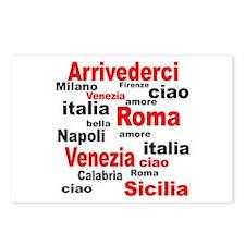 Italian sayings Postcards (Package of 8)