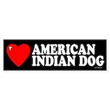 AMERICAN INDIAN DOG Bumper Bumper Sticker