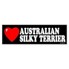 AUSTRALIAN SILKY TERRIER Bumper Bumper Sticker