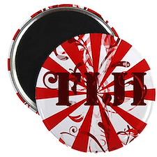 Fiji red vintage Magnet
