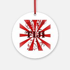 Fiji red vintage Ornament (Round)