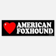 AMERICAN FOXHOUND Bumper Bumper Bumper Sticker