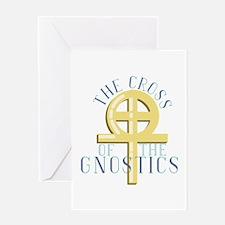 Cross Of Gnostics Greeting Cards