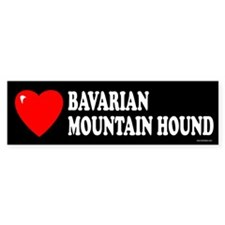 BAVARIAN MOUNTAIN HOUND Bumper Bumper Sticker