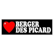 BERGER DES PICARD Bumper Bumper Sticker
