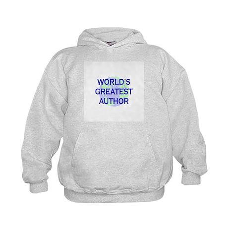 World's Greatest Author Kids Hoodie