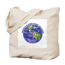 World's Greatest Author Tote Bag