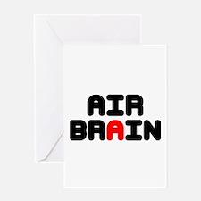 AIR BRAIN Greeting Cards