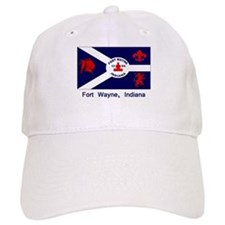 Fort Wayne IN Flag Baseball Cap