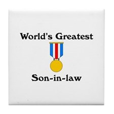 WG Son-in-law Tile Coaster