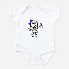 Microscope - Kelly Blue Infant Bodysuit