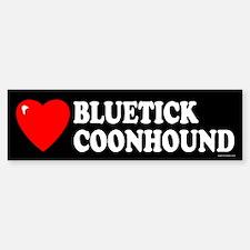 BLUETICK COONHOUND Bumper Bumper Bumper Sticker