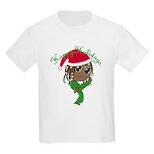 Kicking Spirit Happy Holidays A T-Shirt