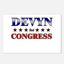 DEVYN for congress Postcards (Package of 8)