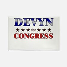 DEVYN for congress Rectangle Magnet