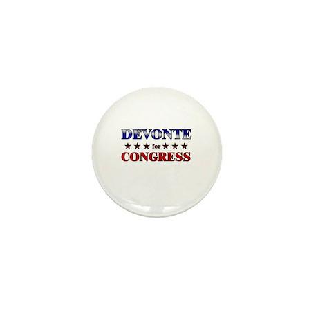 DEVONTE for congress Mini Button
