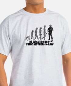 Evolution - My USMC Mthr-n-Law T-Shirt