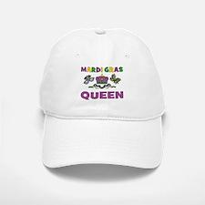Mardi Gras Queen Baseball Baseball Cap