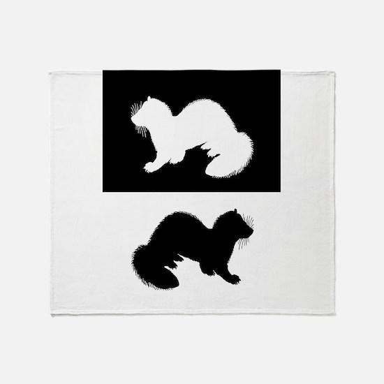 Ferrets Throw Blanket