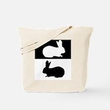 Unique Bunny picture Tote Bag