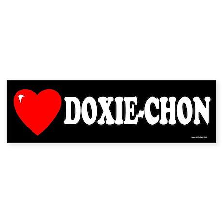 DOXIE-CHON Bumper Sticker