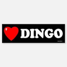 DINGO Bumper Bumper Bumper Sticker