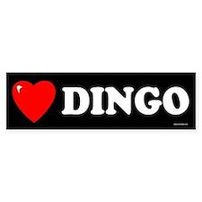 DINGO Bumper Bumper Sticker