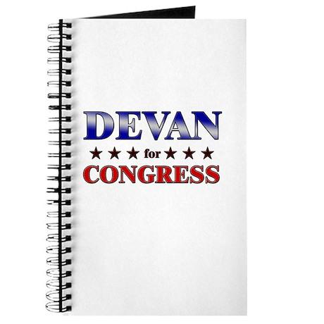 DEVAN for congress Journal
