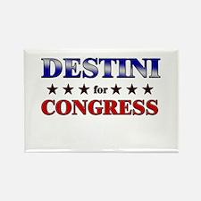DESTINI for congress Rectangle Magnet