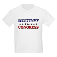DESTINEY for congress T-Shirt