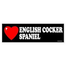 ENGLISH COCKER SPANIEL Bumper Bumper Sticker