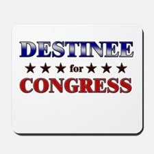 DESTINEE for congress Mousepad
